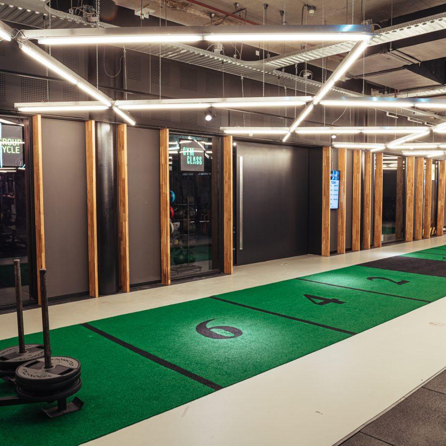 ClubSportive interieur //